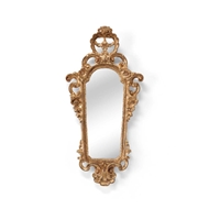 Chelsea House Wall Decor Firenze Mirror Sconce-Gold 381846