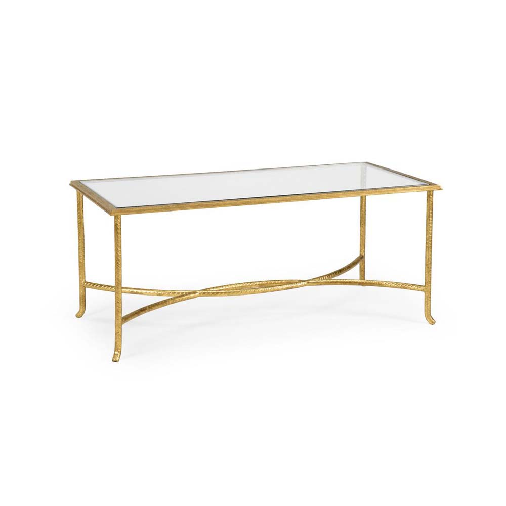 Chelsea House Home Watson Coffee Table   Gold