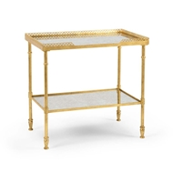 Chelsea House Home Foster Side Table- Gold