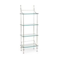 Chelsea House Home Coleman Etagere - Silver 381992