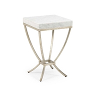 Chelsea House Home Brandon Side Table-Silver