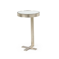 Chelsea House Home Mitchell Side Table - Silver