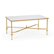 Chelsea House Home French Cocktail Table-Gold