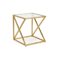 Chelsea House Home Gilt Side Table-Gold