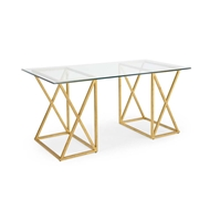 Chelsea House Home Gilt Desk-Gold