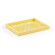 Chelsea House Home Yellow Tray 382069