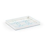 Chelsea House Home Tray - White And Blue