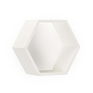 Chelsea House Home Honeycomb Wall Box - White