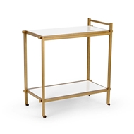 Chelsea House Home Bar Cart - White