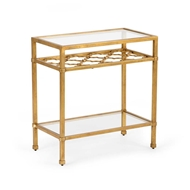 Chelsea House Home Pacific Coast Table - Gold