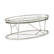 Chelsea House Home Mason Cocktail Table - Silver