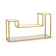 Chelsea House Home Tri-Level Console Table