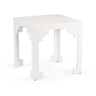 Chelsea House Home Cut Corner Table (Lg) - White