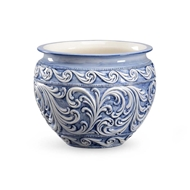 Chelsea House Home Praga Cachepot - Blue 382415