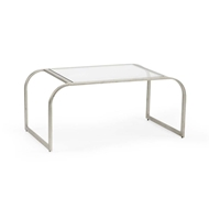 Chelsea House Home Everest Cocktail Table-Silver