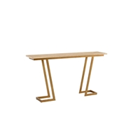 Chelsea House Home Z Console - Gold