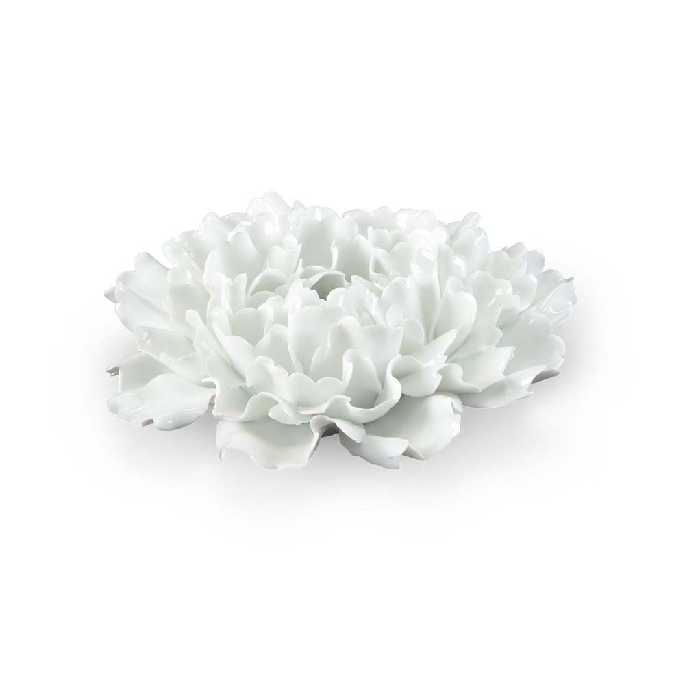 Chelsea House Home Small Lotus Flower White 382488 Price Match