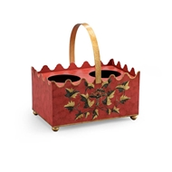 Chelsea House Home French Wine Caddy - Red 382503