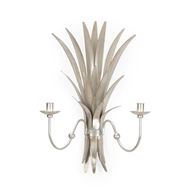 Chelsea House Lighting Wheat Sconce - Silver 382536
