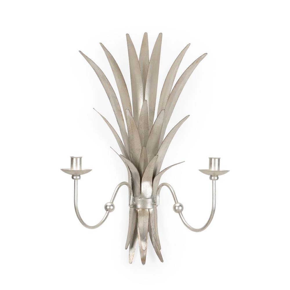 Chelsea House Lighting Wheat Sconce Silver