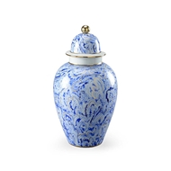 Chelsea House Home Marbelized Covered Urn (Lg)