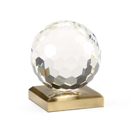Chelsea House Home Crystal Ball Accent (Lg)