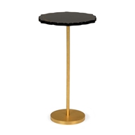 Chelsea House Home Black Side Table