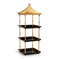 Chelsea House Home Pagoda Shelf 382553