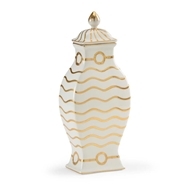 Chelsea House Home Wavey Stripe Vase