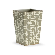 Chelsea House Home Geometric Waste Bin
