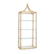 Chelsea House Home Pagoda Wall Shelf 382668