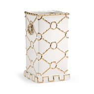 Chelsea House Home Square Ring Vase - Gold