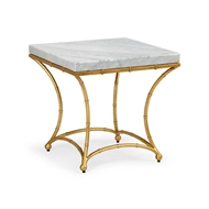Chelsea House Home Bamboo Side Table - Gold