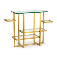 Chelsea House Home Tiered Console - Gold
