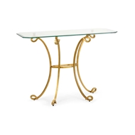 Chelsea House Home Cut Corner Console Table 382819