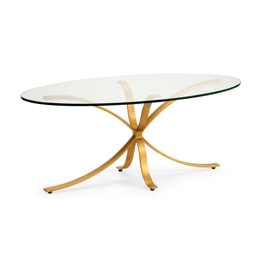 Chelsea House Home London Coffee Table Gold 382822 Price Match