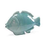 Chelsea House Home Small Fish - Celadon