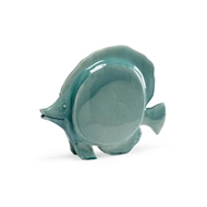 Chelsea House Home Large Fish - Celadon 382843