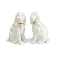 Chelsea House Home Dogs - White (Pair)