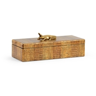 Chelsea House Home Alligator Box (Sm)