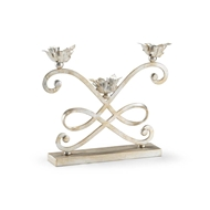 Chelsea House Lighting Fulton Candlestick - Silver 382932