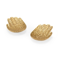 Chelsea House Home Small Gold Hands (Pair)
