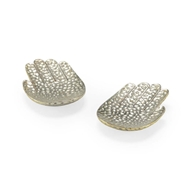 Chelsea House Home Small Silver Hands (Pair)