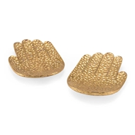 Chelsea House Home Large Gold Hands (Pair)