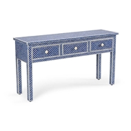 Chelsea House Home New London Console - Blue 383001