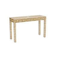 Chelsea House Home Winstead Console - Gold 383008