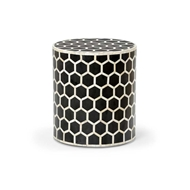 Chelsea House Home Lincoln Side Table - Black 383015