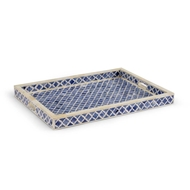 Chelsea House Home Newton Tray - Blue 383021