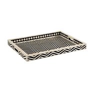 Chelsea House Home Newton Tray - Black