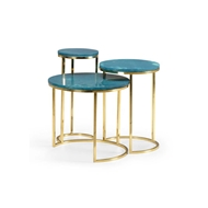 Chelsea House Home Nesting Tables - Seafoam (S3)